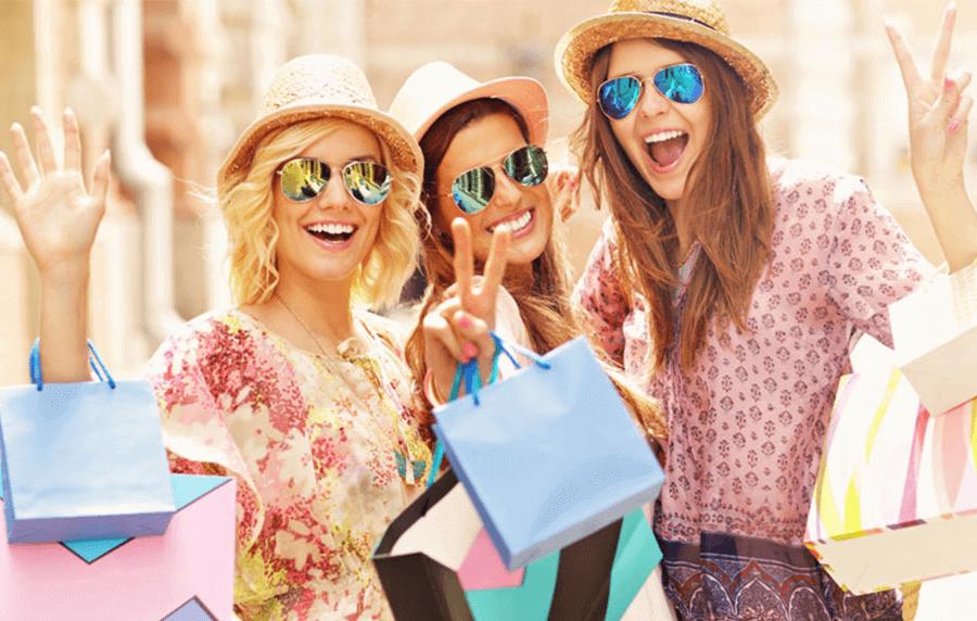 Попустите започнуваат, време е за шопинг!
