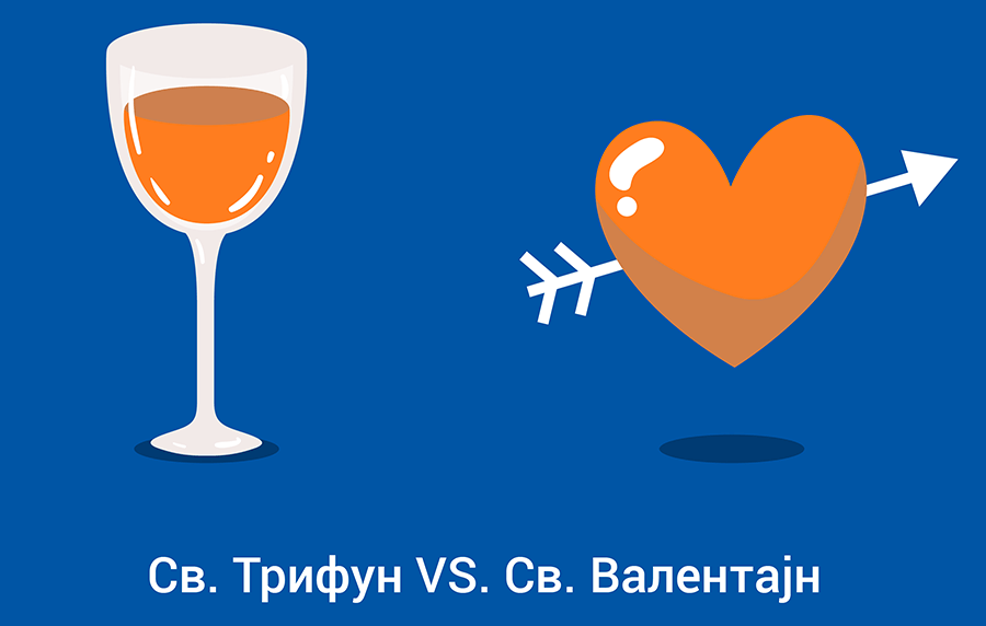 Св. Валентин VS Св. Трифун